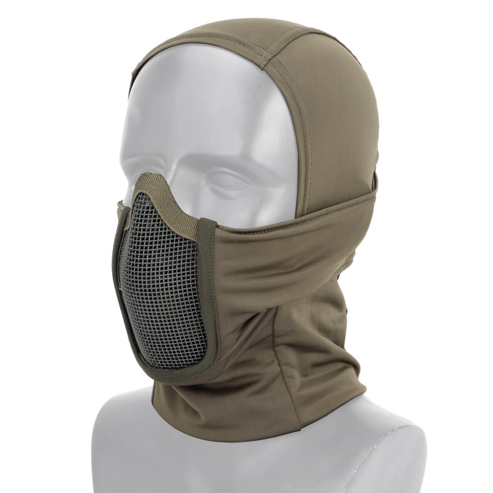 Tactisch volgelaatsmasker bivakmuts voor motor-, leger-, airsoft- en - Het schieten - Foto 4