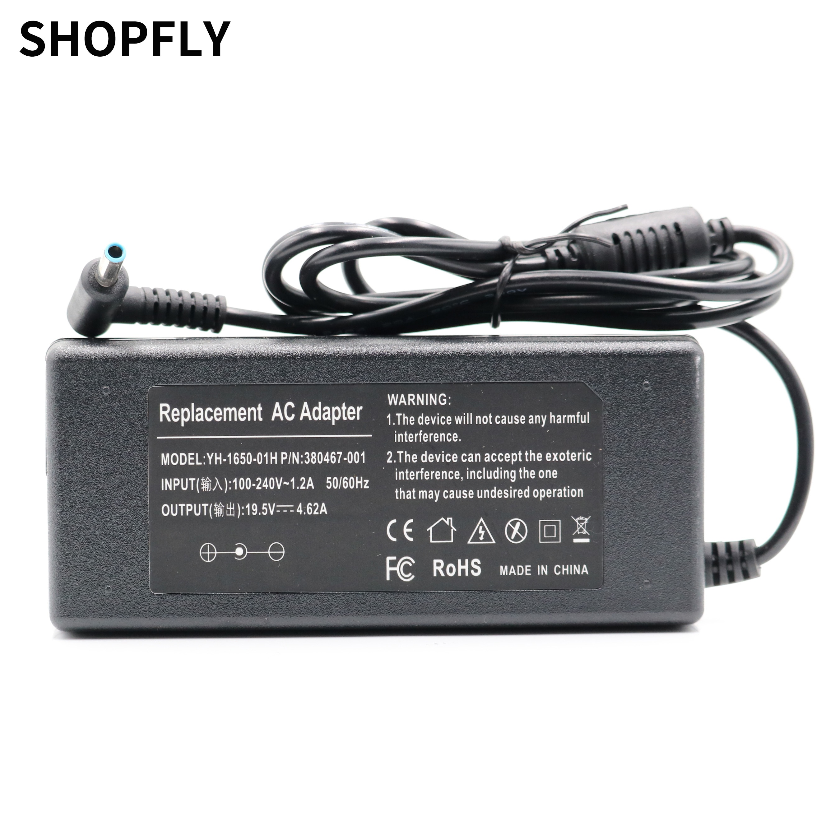 19.5V 4.62A 90W 4.5*3.0mm AC Laptop Charger Power Adapter For HP PPP012C-S 710413-001 Envy 17-j000 Charger Notebook 19 5v 16 9a 330w laptop charger ac adapter pa 1331 91 for acer predator 17x gx 791 gx 792 21x gx21 71 kp 33001 001 kp 33003 001