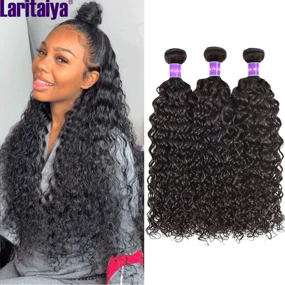 laritaiya onda de agua pacotes tecer cabelo brasileiro 100 virgem cabelo humano 1