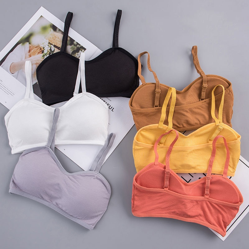 New Women Seamless Bra Fashion Sexy Tube Top Summer Female Wrapped Chest Beauty Back Underwear Thread Love Breast Wrap