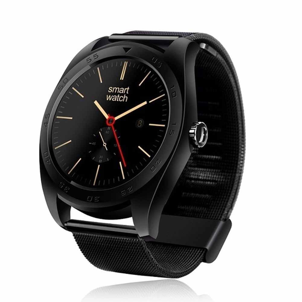 Disparador remoto reloj inteligente Popular Bluetooth controla la frecuencia cardíaca monitor despertar gesto para teléfonos IOS y Android