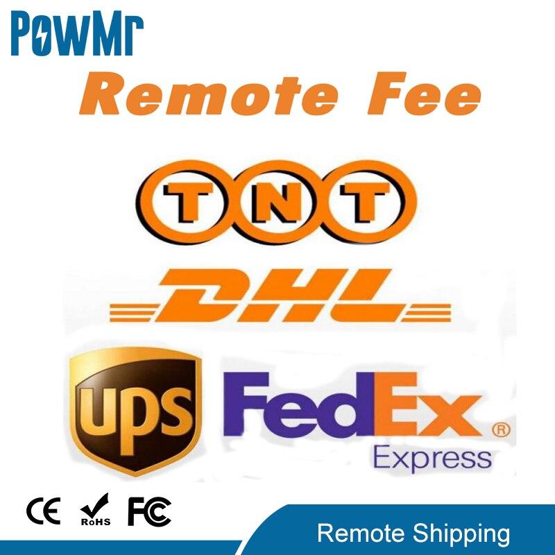 رسوم المنطقة عن بعد لـ DHL Fedex TNT ، شحن UPS