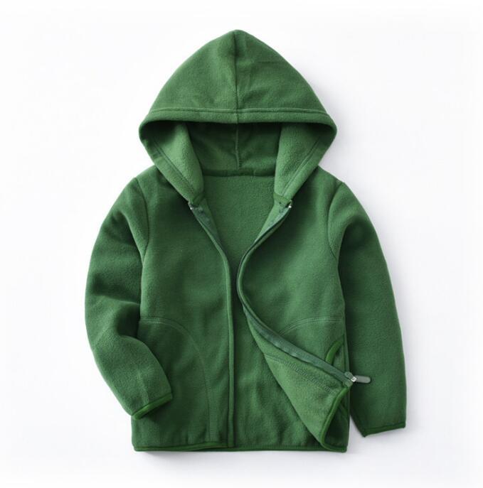 2019 nueva chaqueta abrigo para niños de lana de invierno ropa Casual de moda para mujeres y niños chaquetas de lana sudadera