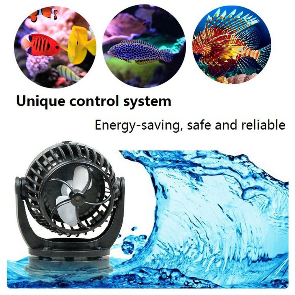 24V Jebao pecera Sine Wave bomba de frecuencia de conversión silenciosa Libre regulación móvil Acuario Arrecife Marino pecera