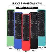 Силиконовые чехлы для Xiaomi Φ Bluetooth-Совместимый Чехол для смарт-пульта дистанционного управления Силиконовый противоударный для контроллера...