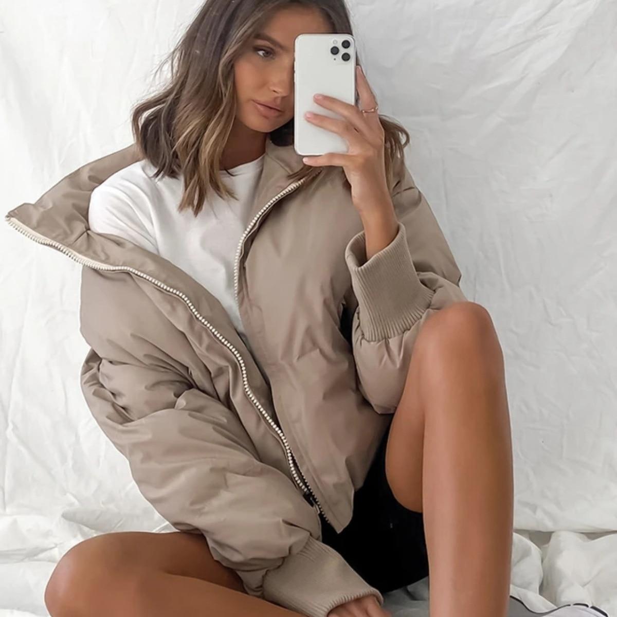 Фото - Горячая распродажа! Новая женская куртка с хлопковой подкладкой и длинным рукавом для отдыха, международная торговля, осень и зима 2020 андрей масловский азак международная и региональная торговля