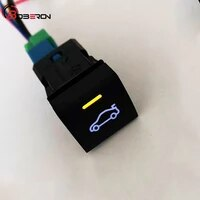 for toyota camry 2018 for avalon rav4 2019 2020 car trunk switch button with connection wire auto accessories