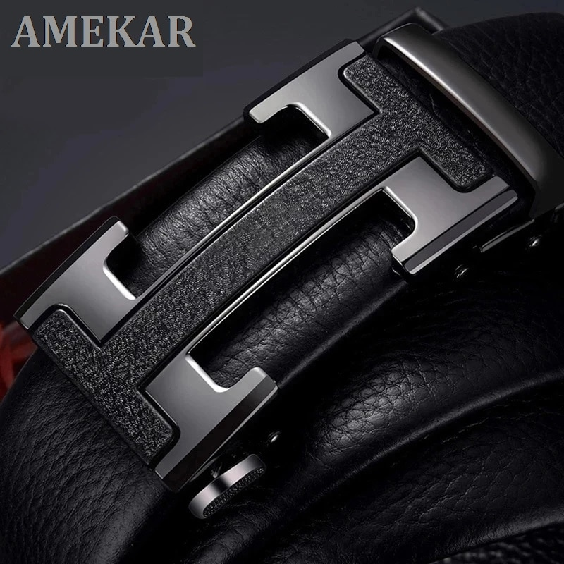 New Male Belt Designer Mens Belts Luxury Man Fashion belt Brand For Men High Quality Automatic Buckle