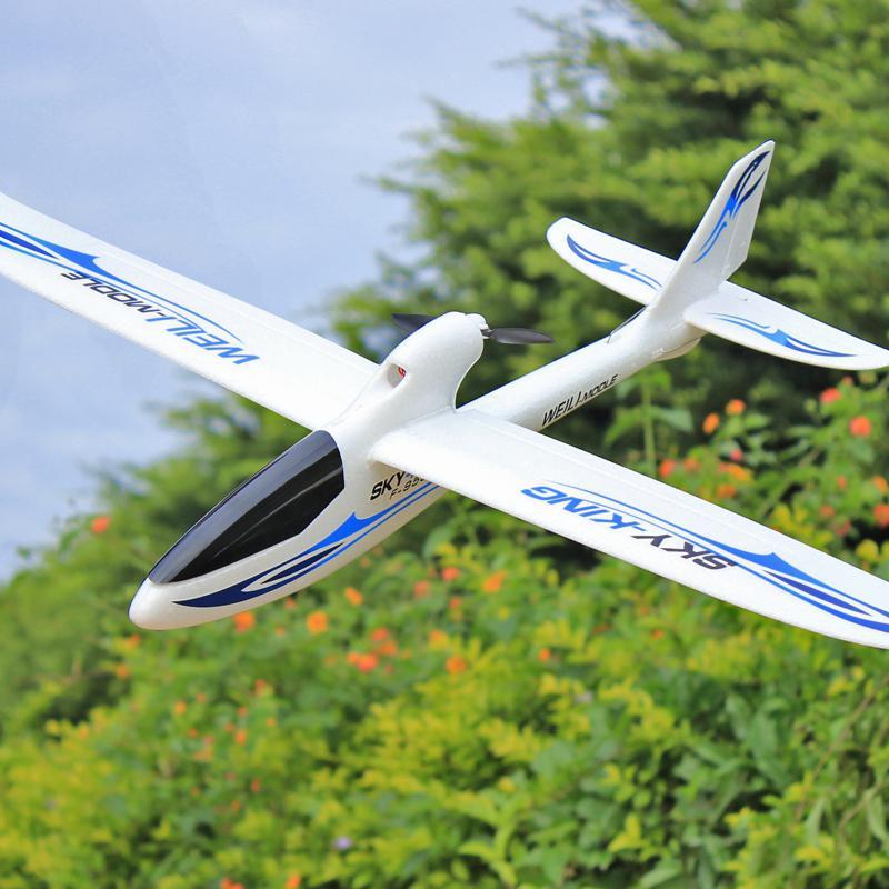 WLtoys F959S 2.4G 3CH 6-Axis Gyro RC Airplane Fixed-wing RTF Remote control Aircraft Glider Outdoor RC Plane toys for boys F22 enlarge