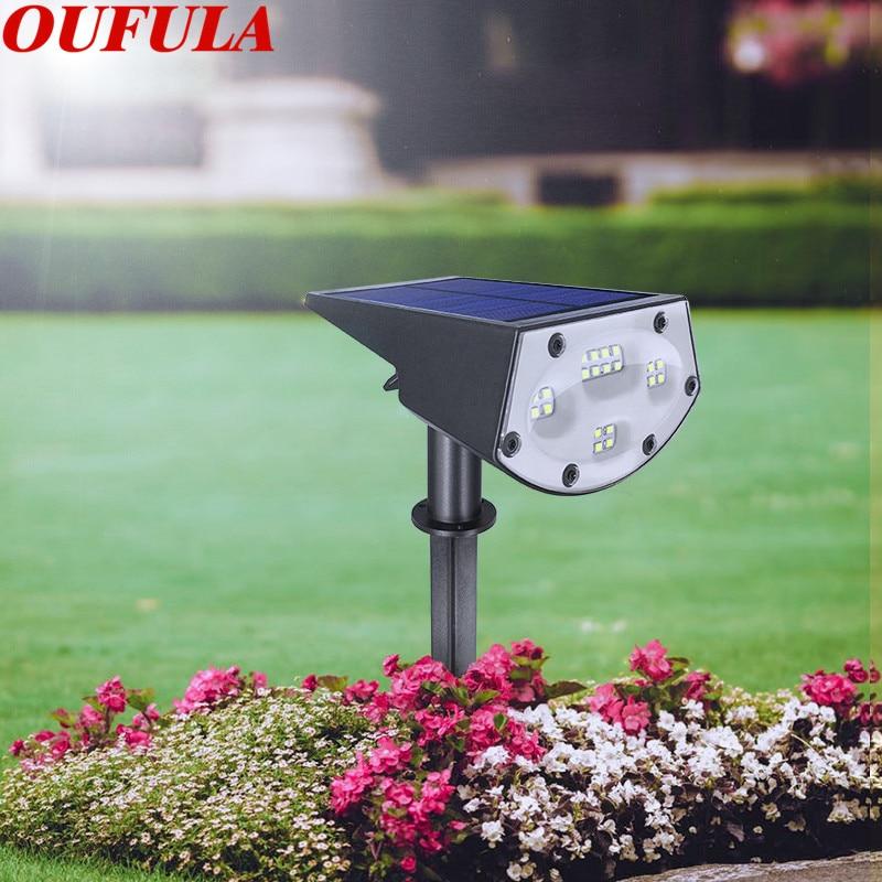 Waterproof Solar Lawn Light Outdoor Garden Landscape Control Induction IP65 20 LEDS