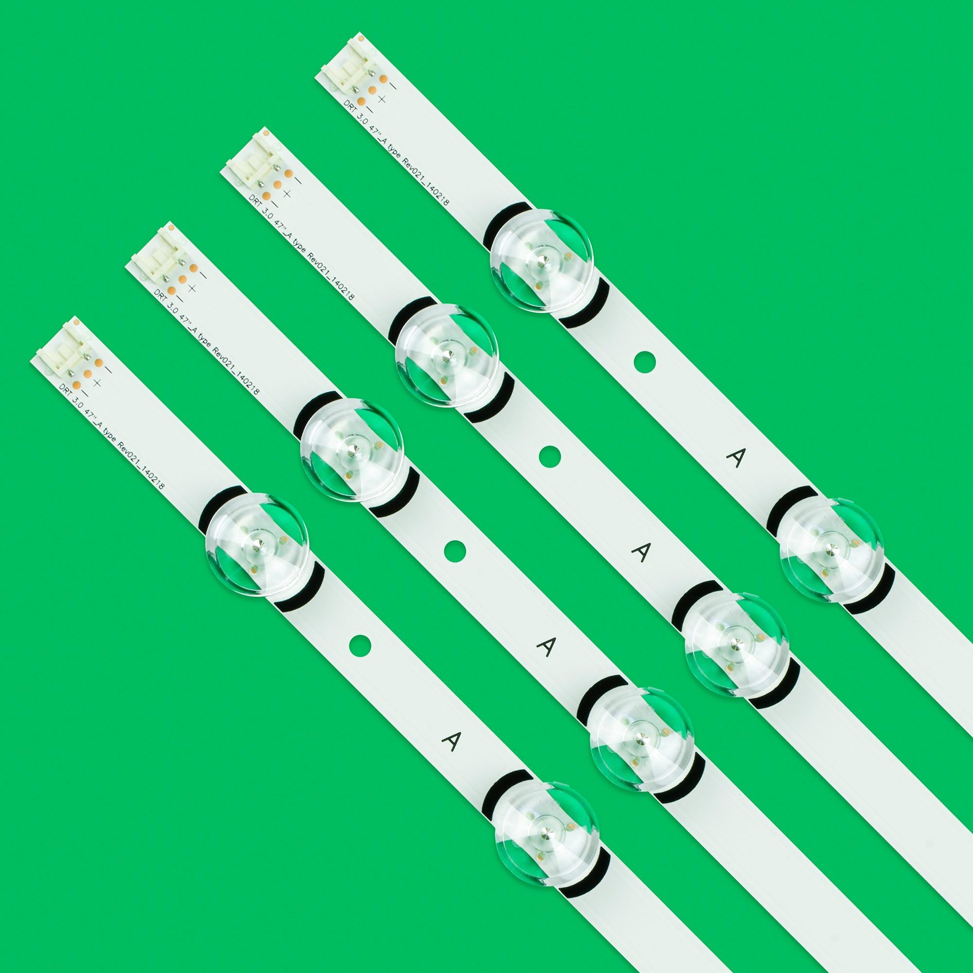 48pcs LED Bar Backlight Strip Line Ruler For LG 47LB585V 47LB5900 47LB6000 47LB6100 DRT3.0 47 A B enlarge