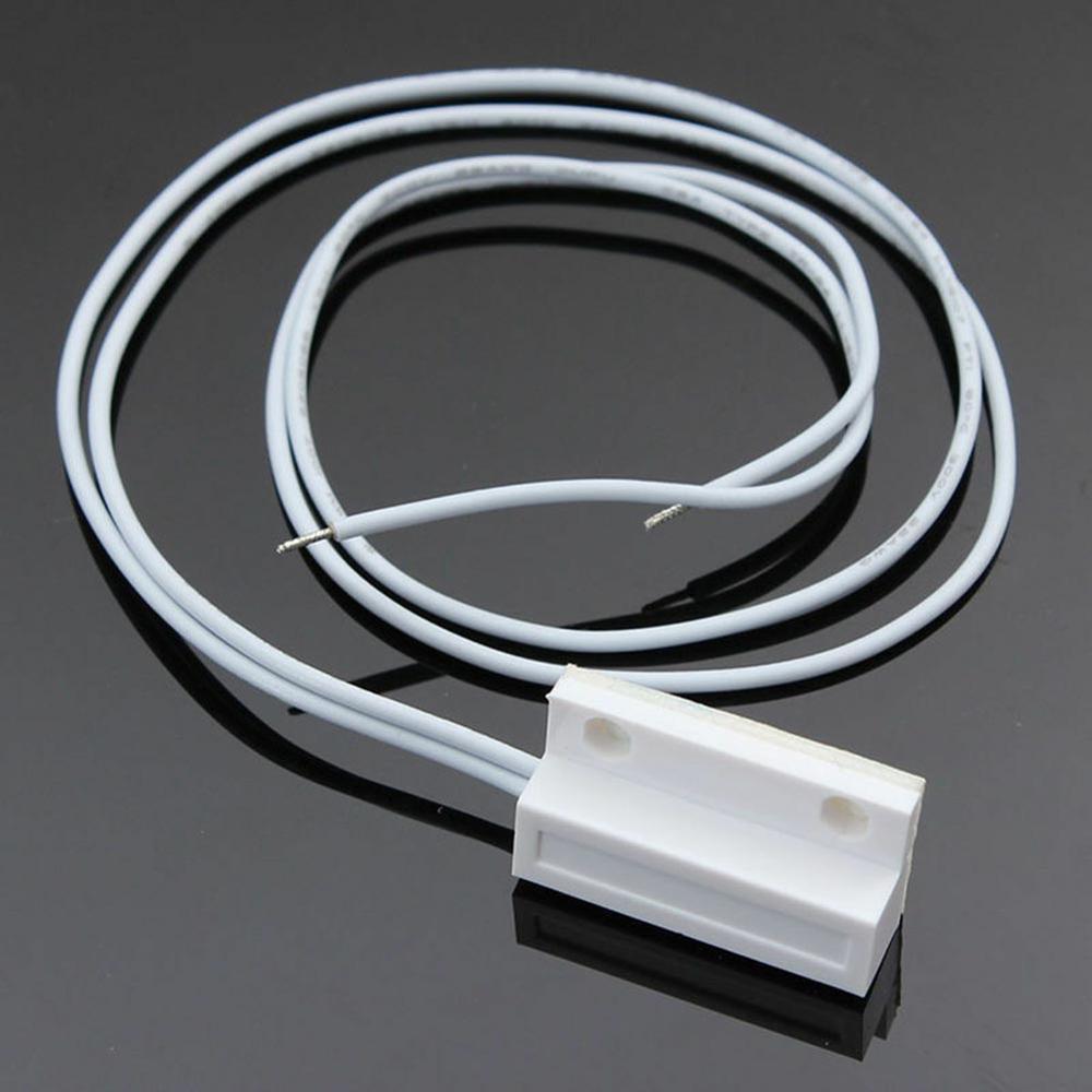 Sensor de puerta con cable de alta tecnología, interruptor magnético, Detector de sistema de alarma para casa, garaje, apartamento