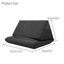 Almohada portátil de espuma Lapdesk, almohadilla de refrigeración multifuncional, soporte para Tablet, cojín de descanso para IPad con bolsa