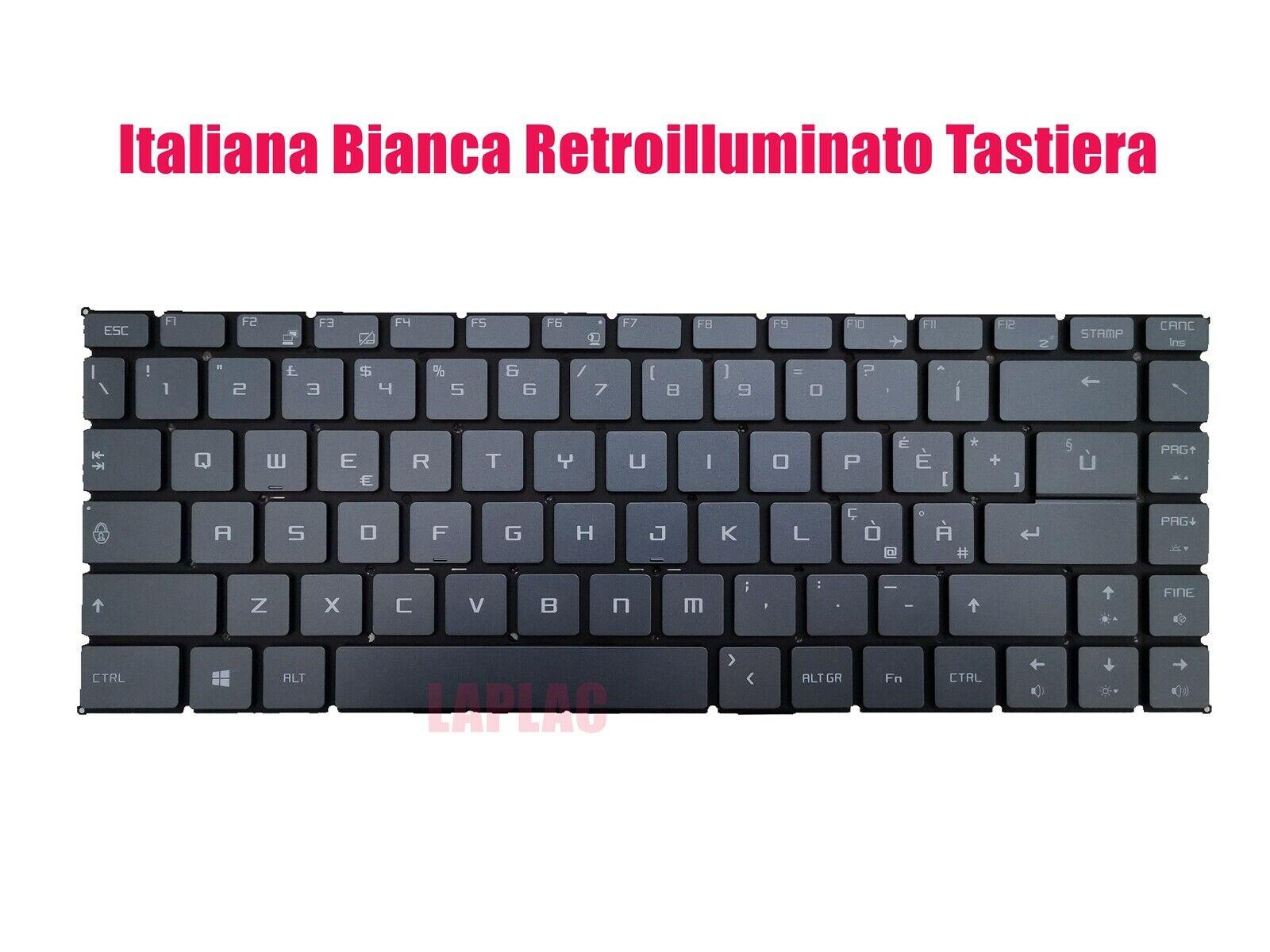 Italiana branca retroiluminado tastiera per msi moderno 14 a10m/a10rb (MS-14B3)