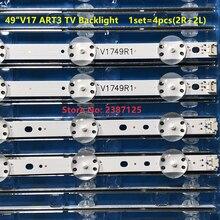 "100% New LED Backlight strip For LG 49"" V17 ART3 TV JB3B1591A02499 49UV340C 49UJ6510 49UJ6565 6916L-2862A 6916L-2863A LC490DGG"