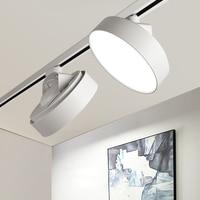 LED Track light aluminum Ceiling 2 wires 1 phase Rail Track lighting lamps 110V 220V 24w LED Lighting for Store live stream