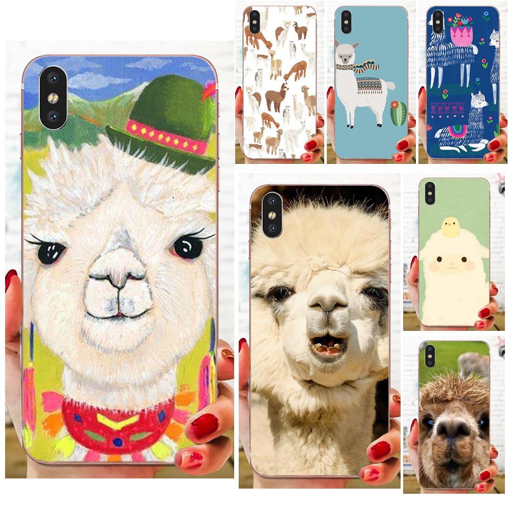 Alpaca Soft Fashion Cell Case For Galaxy J1 J2 J3 J330 J4 J5 J6 J7 J730 J8 2015 2016 2017 2018 mini Pro