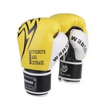 Adultes gants De Boxe MMA Muay Thai Boxe De Luva mitaines Sanda équipements rose gant De Boxe pour les femmes