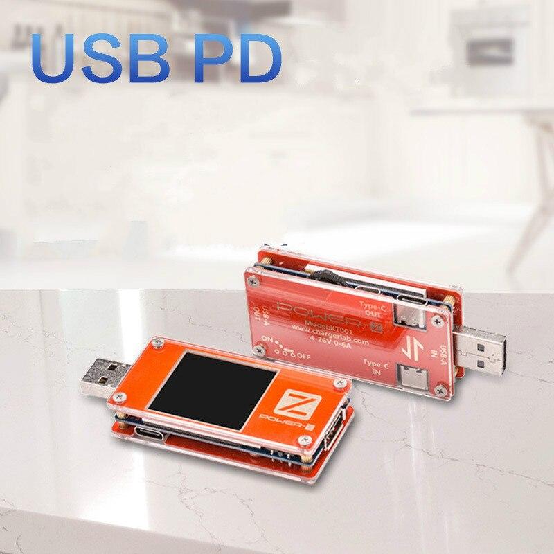 Conjuntos de ferramentas para chargerlab POWER-Z kt001 usb pd tester duplo tipo-c detector de carga rápida