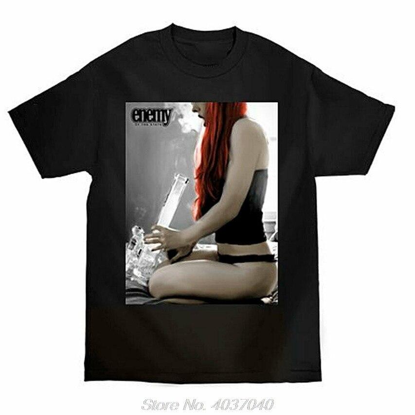 Camiseta negra de manga corta de Bong RIP para hombre, camisetas de ropa para hombres, ropa de Clothi, camiseta harajuku
