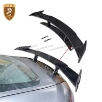 cssyl car assessoires spoiler for benz gts gt model change renntech style real spoilers wing carbon fiber car styling 00394