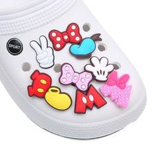 New product 1pc shoe decoration/croc shoe charms/shoe accessories for clogs kids school gift fit wri