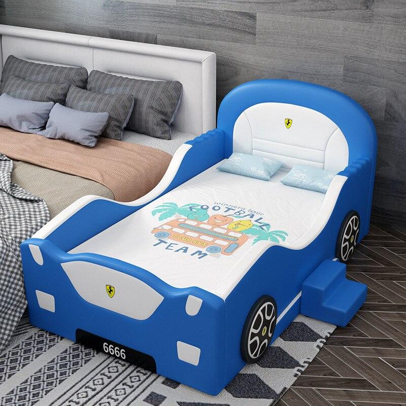 سرير كارتون للأطفال ، سرير أطفال 1.2 متر ، مصدات سرير ، حاجز سرير مضاد للسقوط ، حزمة ناعمة ، حاجز أمان للأطفال