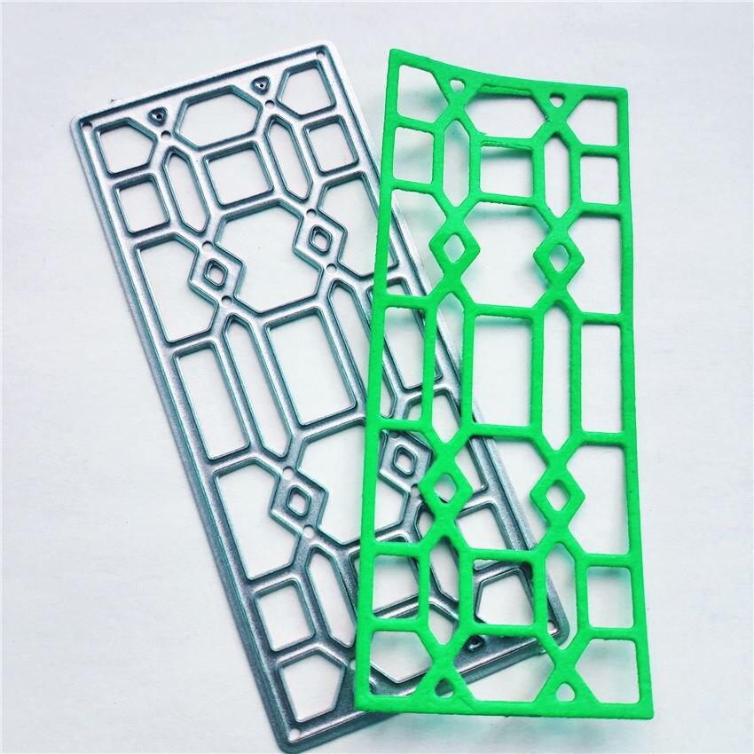 Китайский стиль оконные металлические штампы трафареты для DIY скрапбукинга декоративные тиснения ручной работы нож высечки шаблон