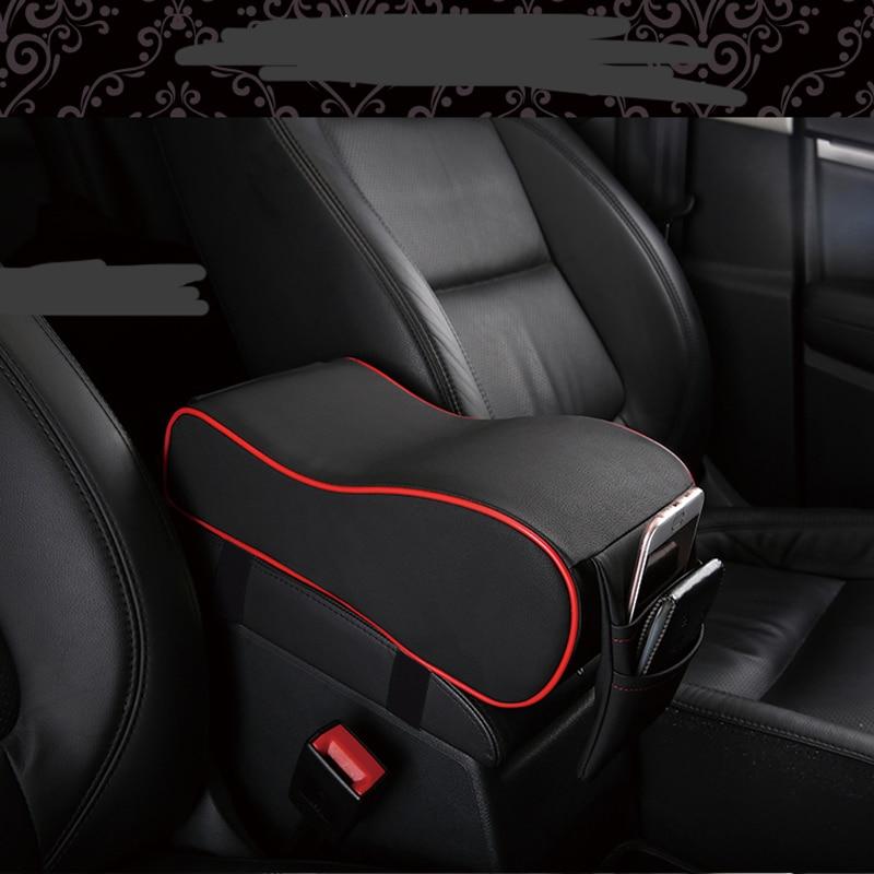 2019 cuero Artificial coche apoyabrazos cojín/cojín para Jaguar XF XJ XJS XK S-TYPE X-TYPE XJ8 XJL XJ6 XKR XK8 XJS X320 X308