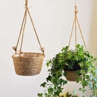 hand woven knitted hanging cattail flower basket bucket plant pot planter home decor %d0%bf%d0%be%d0%b4%d0%b2%d0%b5%d1%81%d0%bd%d0%b0%d1%8f %d1%86%d0%b2%d0%b5%d1%82%d0%be%d1%87%d0%bd%d0%b0%d1%8f %d0%ba%d0%be%d1%80%d0%b7%d0%b8%d0%bd%d0%b0