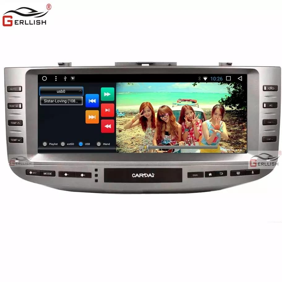 "Android Car Multimedia for Toyota Mark X / Reiz X120 2004 ~ 2009 Original Stereo Headset GPS Navi Carplay DSP 12.3"" 2 + 32G"