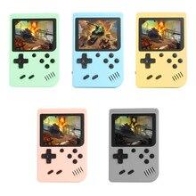 Portable 3.0 pouces lecteur de jeu Portable intégré 500 jeux classiques rétro Console de jeu vidéo Mini poche Gamepad cadeau pour les enfants