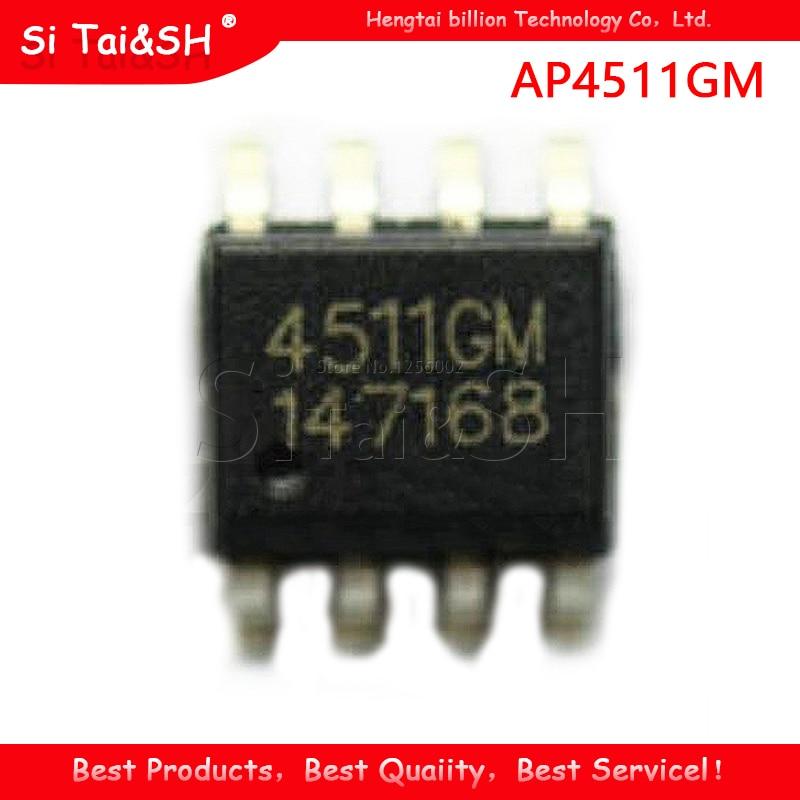 5 unids/lote 4511GM AP4511GM portátil chip SOP-8