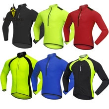 WOSAWE Summer Mens Cycling Jersey Long Sleeve MTB Outdoor Sports Thin Jacket Maillot Bike Riding Cycle Shirts 4 Colors Clothes