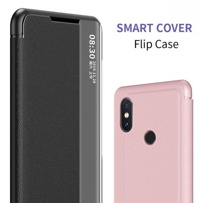 Купить с кэшбэком Flip Case For VIVO Y19 V15 V17 Z1 Pro Cases Smart Wake Leather Window View Cover For VIVO Y17