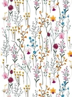 modern floral peel and stick wallpaper self adhesive removable wall decor for home bedroom walls doors cabinets easy to clean