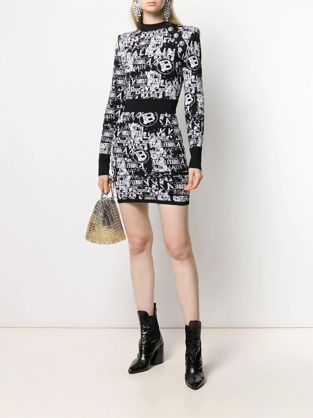 Vestido de fiesta elegante de calidad superior de manga larga Mini con botones sexi de rayón para mujer gran oferta