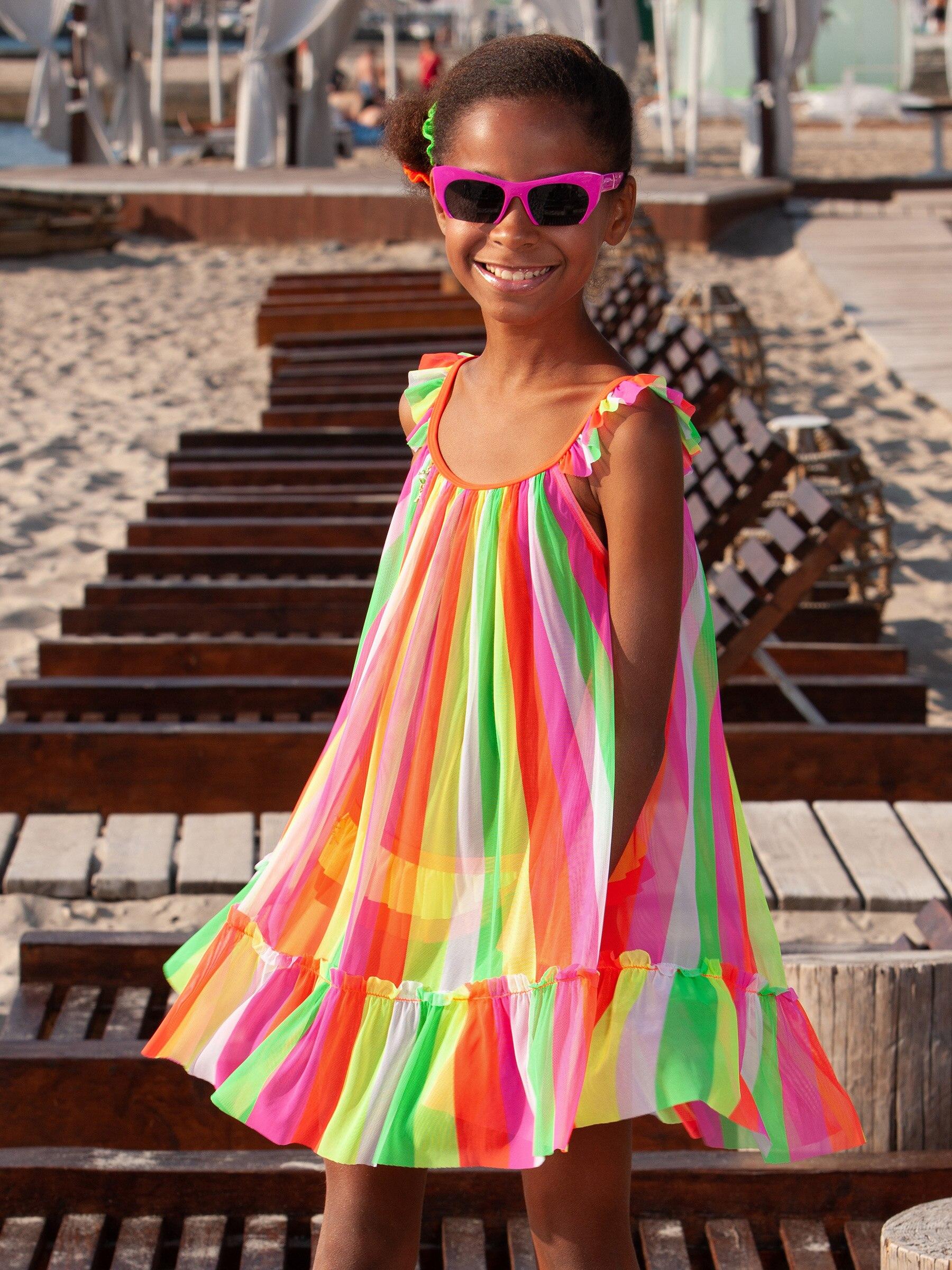 Платье пляжное для девочек Arina