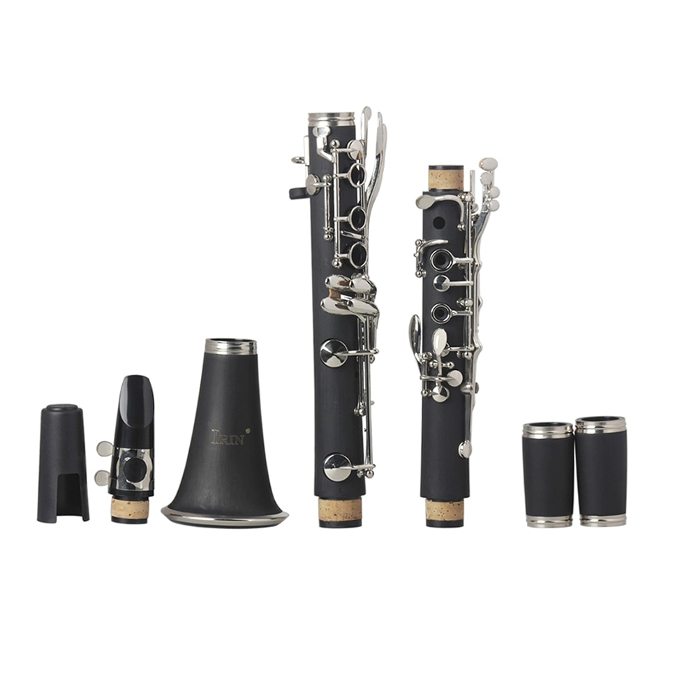 Professional Bb Clarinet 17 Key Bakelite Klarnet With Case Woodwind Instrument High Quality Black Clarinet For Musical Lovers enlarge