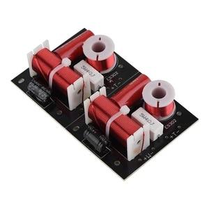 2Pcs 400W Speaker Frequency Divider 2 Way 2 Unit Hi-Fi Soundshelf Crossover Filters Woofer and Tweeter