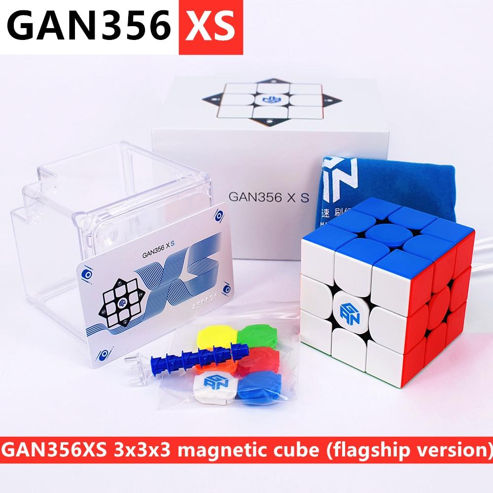 GAN356 XS Магнитный 3x3x3 кубик волшебный GAN356XS Магнитный кубик скорости 3x3x3 магический куб gans 3x3x3 куб GAN356X S 3x3 Магнитный скоростной головоломка куб