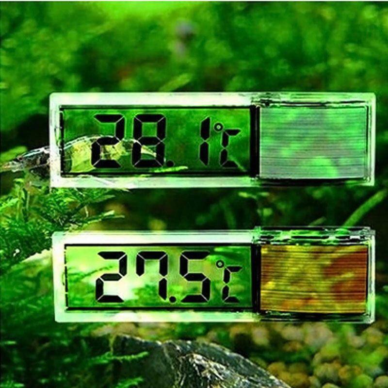 Novo multi-funcional lcd 3d digital medidor de temperatura eletrônico medidor de temp aquário termômetro-20