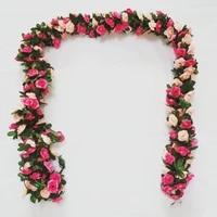 %e2%9c%852m artificial eucalyptus garland hanging rattan vine ivy wedding flowers decor