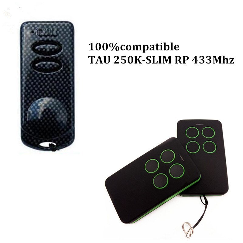 TAU 250-SLIM, TAU 250-K-SLIM Compatible remote control 433 92Mhz remote control 280-868mhz Duplicator