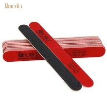 10Pcs/Lot Professional Nail Buffers File 100/180 Grit UV Gel Sanding Buffer Block Manicure Pedicure lime a ongle Nails Care Tool