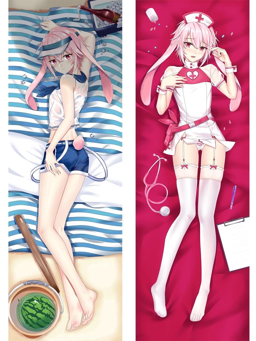 Mxdfafa-غطاء وسادة نسائي ، غطاء وسادة ، كارتون ، Arknights ، Dakimakura ، جسم عناق ، Manga
