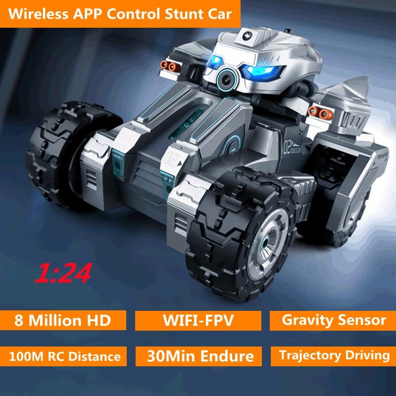 WIFI FPV 8MP HD Camera Gravity Sensor RC Car 30Mins 100M Multiplayer Autopilot Trajectory Intelligent Drift Remote Control Car