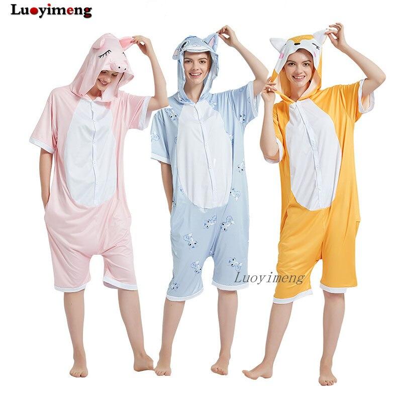 Pijama Kigurumi para mujer, Onesie Unisex, unicornio Panda, ropa de dormir, disfraz, Onesies de dibujos animados, pijamas para mujeres, chicas, mono dormir