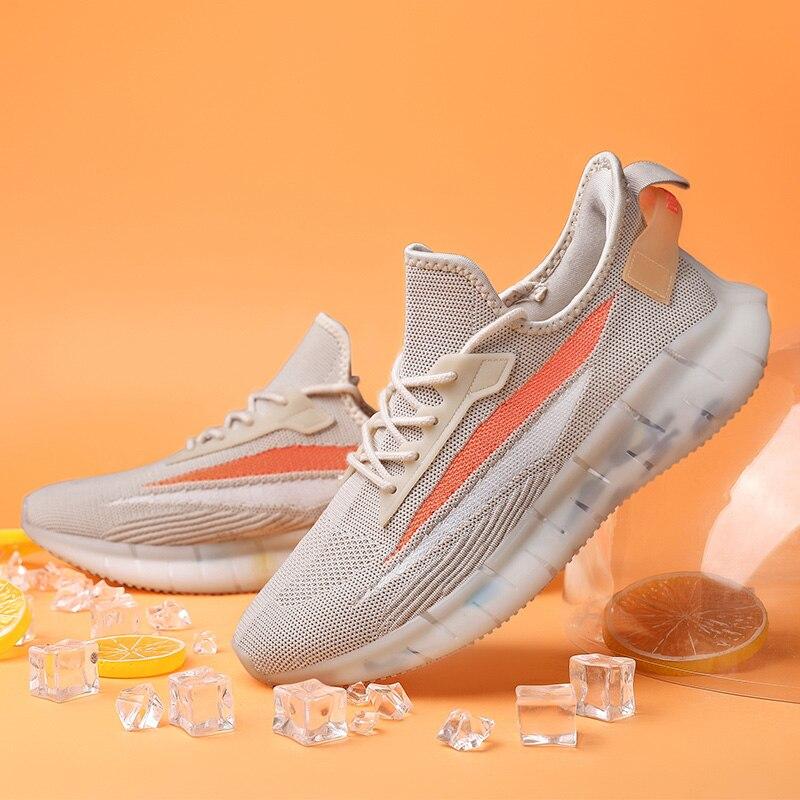تنفس الفقرة تنفس الرجال موضة حذاء رياضة بيع رجل عصري شبكة ضوء غير رسمي الرجال أحذية رياضية الرجال 39 hombre الصيف الأسود
