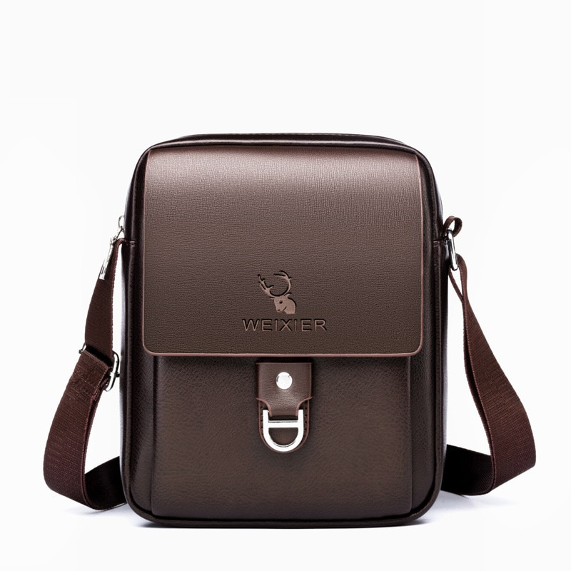 PU Leather Man Shoulder Bags Business Male Crossbody Bag Travel Shopping Shoulder Bags for Man Casua